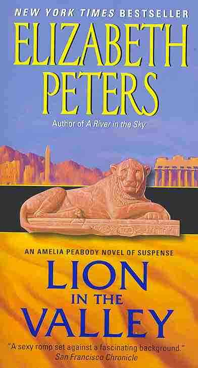 Lion in the Valley By Peters, Elizabeth